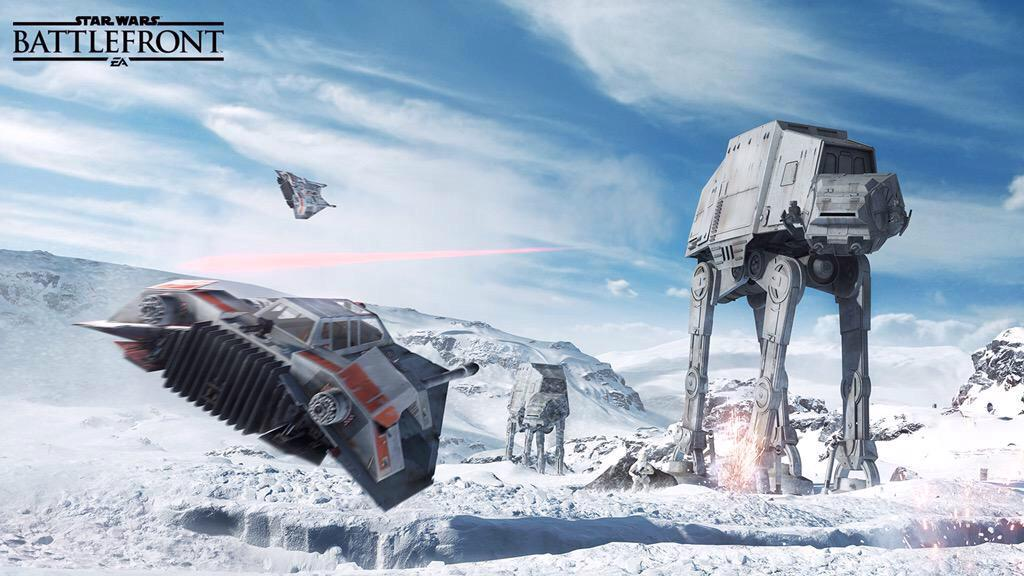 DROP IT LIKE IT'S HOTH. I saw #StarWarsBattlefront for @Engadget: http://t.co/iJhnmhGuvG http://t.co/Iuw1qymkri