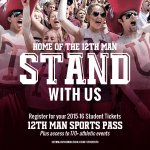 LAST day for 2014-15 #12thMan Sports Pass holders to renew for 2015-16 season. Renew: http://t.co/vBjy64P7a6 http://t.co/kgcvlOHgUq