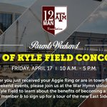 In town for #AggieRing Day or #ParentsWeekend? Take a tour of the Kyle Field concourse, courtesy @12thManFndtn! http://t.co/B5mOfmh6Be