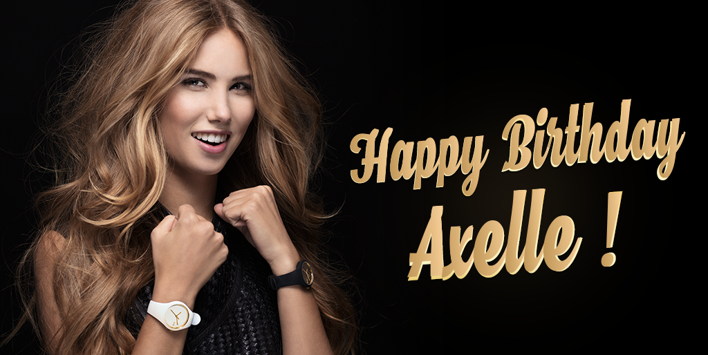 The whole Ice-Watch​ team wishes to Axelle Despiegelaere a very happy birthday ! #birthday #icewatch #ambassador http://t.co/lLpvUdbgeC
