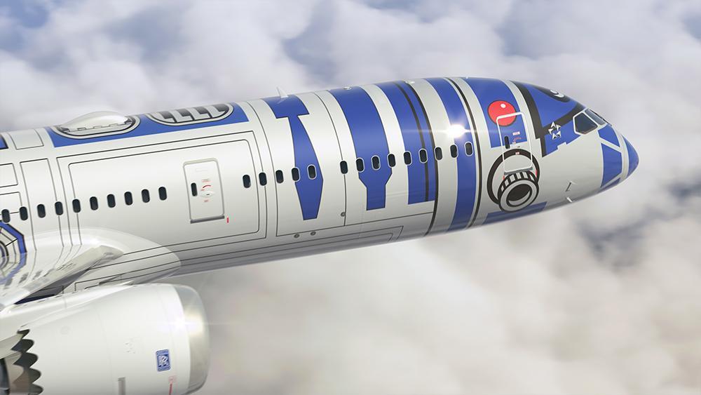 Pictures of the @FlyANA_official new dreamliner. #R2D2 #StarWarsTheForceAwakens #staralliance http://t.co/EGteTIAt7x http://t.co/nIutNZWEwr