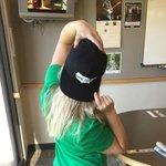 Thanks for my hat @ThomasRhett #hometown #kansascity @wolfkansascity http://t.co/vB9XB4Zyha