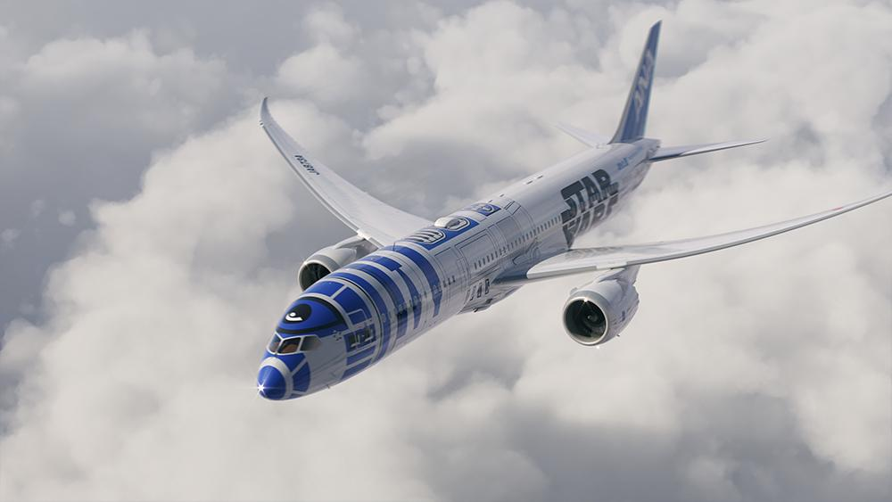 Fingers crossed we'll see it here at YVR MT @airwaysmagazine: R2-D2 To Take Flight w/ ANA
