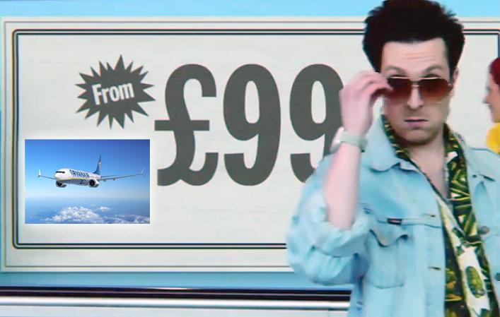 RT @Independent_ie: First Look: @Ryanair's new TV ad is an absolute cheese-fest... View here: