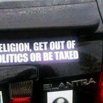This bumper sticker is taking the #Seattle area by storm and is headed east. #MikeHuckabee http://t.co/0pCunXBeve