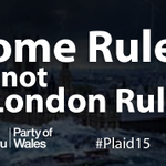 If you want to see more decisions about Wales made in Wales, back the Party of Wales on May 7th #Plaid15 #GE2015 http://t.co/MZ6Dpba35M