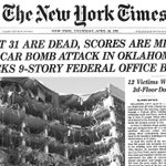 The Oklahoma City bombing happened on this day 20 years ago. http://t.co/ESve6HRTzN http://t.co/vUFEvQGsgH