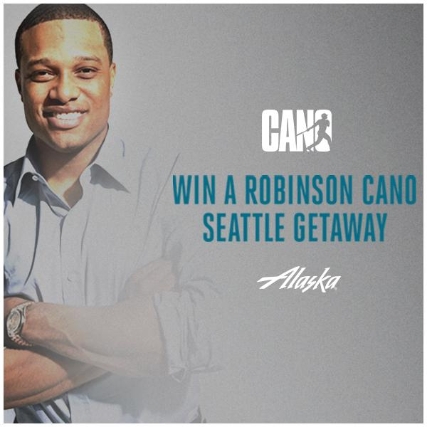Cheer on the @Mariners and @RobinsonCano with a trip to Seattle – on us!