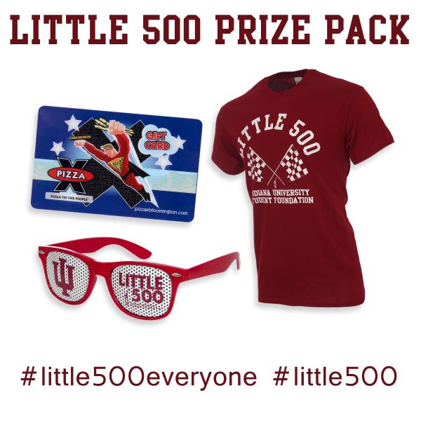 LAST CHANCE! RT to enter to win this prizepack from @TISIndiana & PX! Ends 4/17 #Little500Everyone #MyLittle500 http://t.co/siPAExbNp4