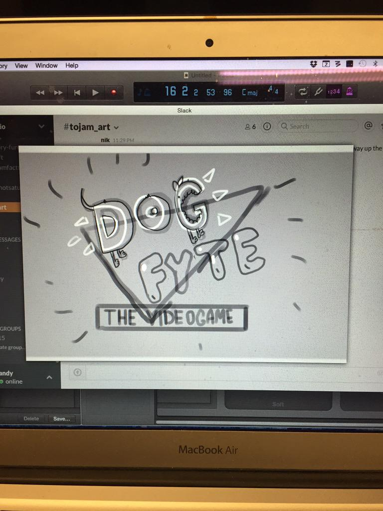Well. We have a logo. #gamedev #tojam #blessed http://t.co/cBTKF2bFKX