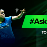 RT @StarSportsIndia: .@NSaina will be taking over our account very soon. Make sure you send in your questions using #AskSaina! http://t.co/…