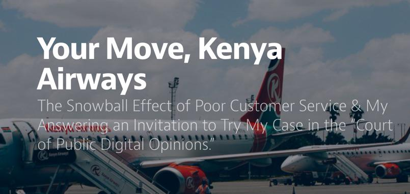 "I just published ""Your Move, @KenyaAirways"" (9 min read) http://t.co/N3oKCt9xkE cc @chriskaranja @DiazChrisAfrica http://t.co/6QL9zcUyxm"