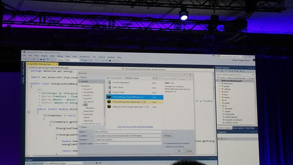 Java in Visual Studio! #Build2015 http://t.co/NSwLH2vJbN