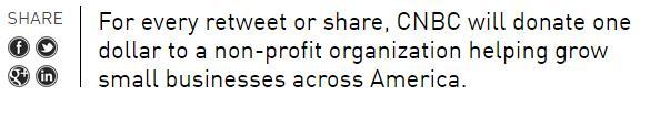 CNBC launches #ShareTheProfit campaign • http://t.co/lBudcErGzF http://t.co/4fg5PkNjD6