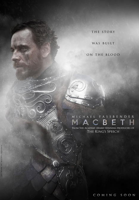 First poster for MACBETH starring Michael Fassbender  #macbeth #poster #michaelfassbender #marioncotillard http://t.co/50p20lLiCe