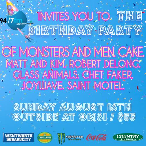 Tickets for Birthday Party on sale now at http://t.co/aXta0IGfnU!  #hbd947 http://t.co/IQ1yTBDttC