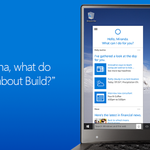 What does #Cortana think about #Build2015 so far? Just ask her.