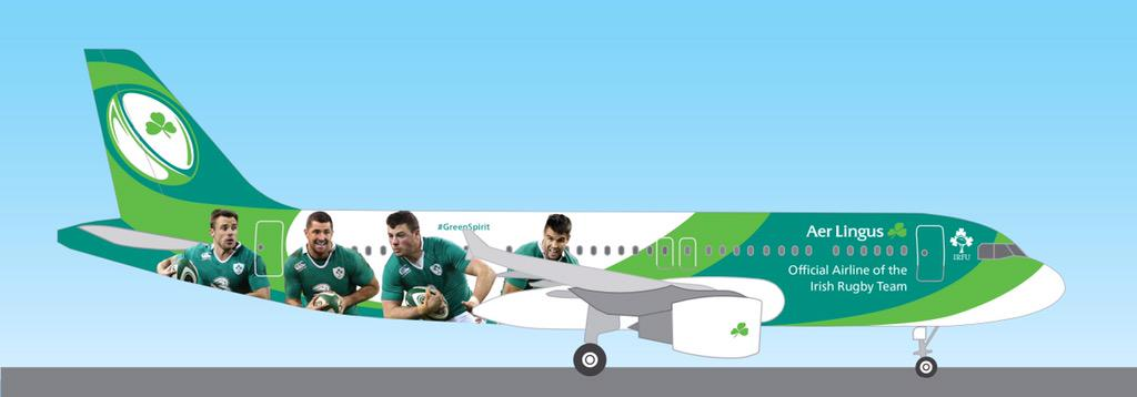 RT @AerLingus: Meet #GreenSpirit, soon to join the fleet. We're very excited about our new partnership with @IrishRugby! http://t.co/f4dNDAWrTV