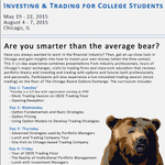 RT @FMAStudents: Sign up for the @CBOE Investing & Trading Seminar for College Students! #FMA http://t.co/HQKTIBNjVw @RussellRhoads http://…