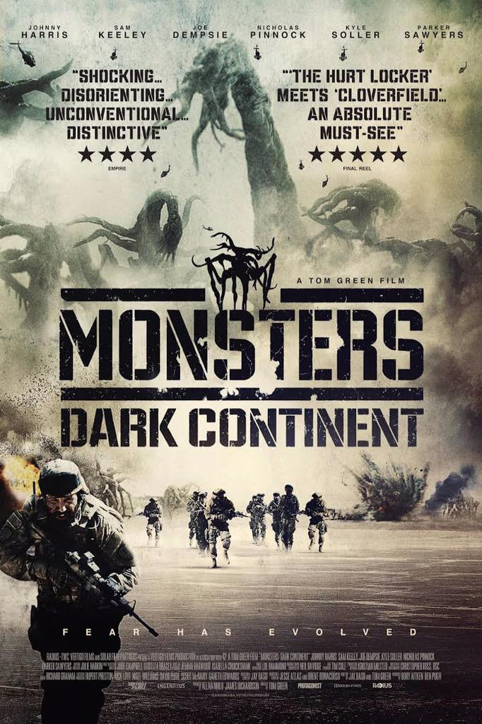 #MonstersDarkContinent is out tomorrow, to celebrate we have DVD/poster bundles to give away. For a chance to win RT http://t.co/ZN9oEQEHBu