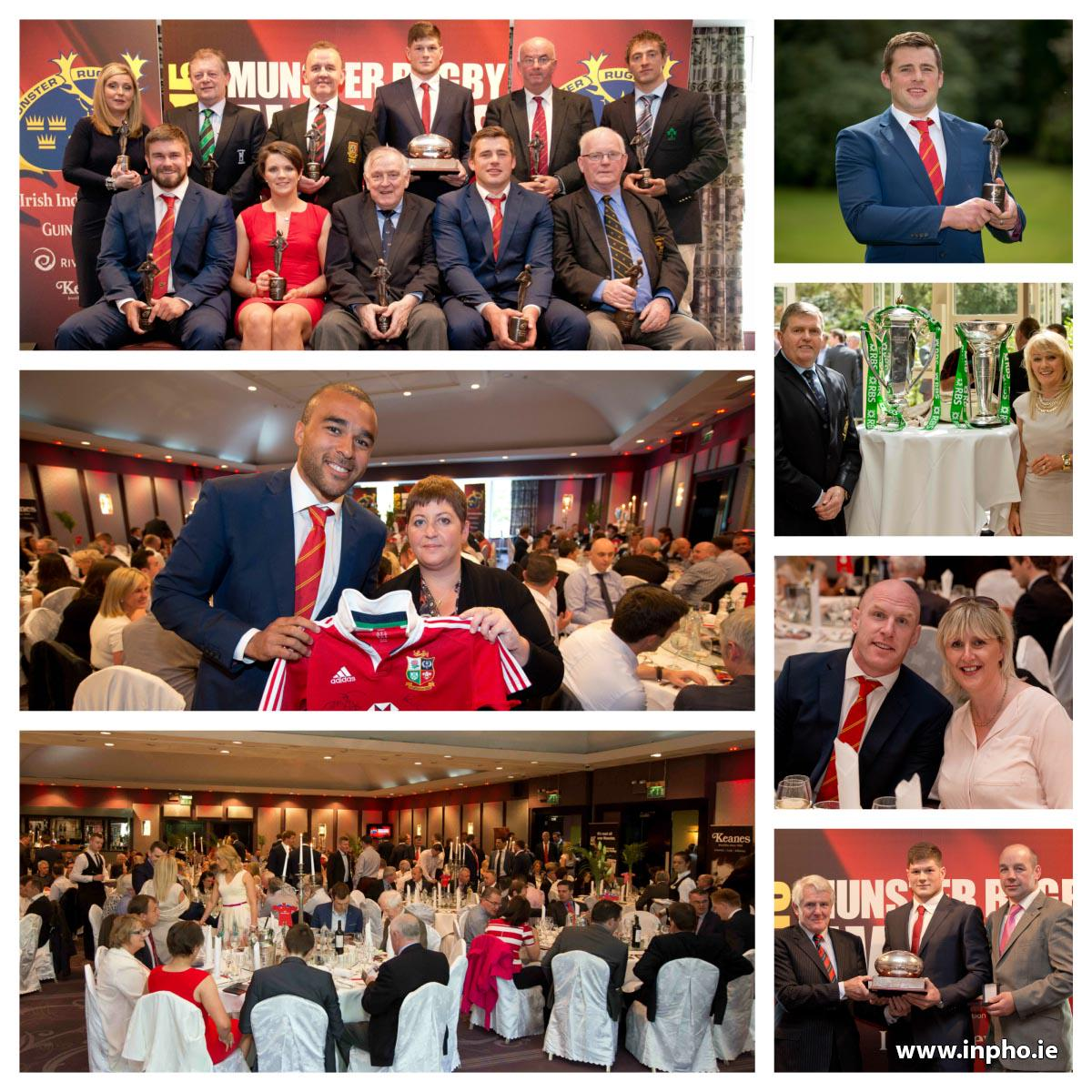RT @Inphosports: Here are some of the best pics from the 2015 @Munsterrugby Awards that took place today in Cork! @MRSC16 @IrishRugby http://t.co/vmGXtJt556