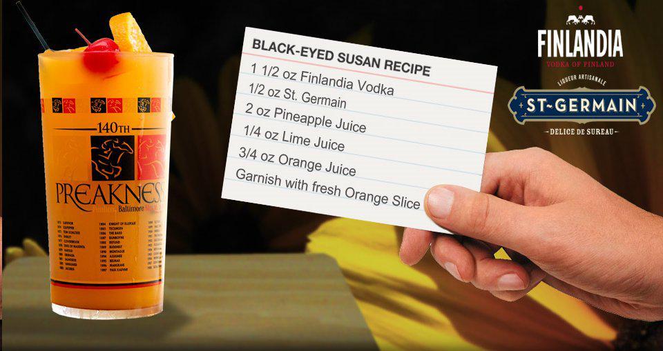 The Official Drink of @PreaknessStakes @BESStakes http://t.co/Mv9MYLJruI #BlackEyedSusan @FinlandiaVodka #NeedNow http://t.co/l2L5uCWWJ2