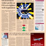 Just published: front page of the Financial Times UK edition Fri May 1 http://t.co/VqDgMzU1jf