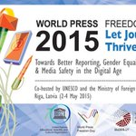 Let journalism thrive! @UNESCO calls for better reporting, more on #PressFreedom Day http://t.co/puxqdCTkJu #WPFD2015 http://t.co/BEGOtmuZp7