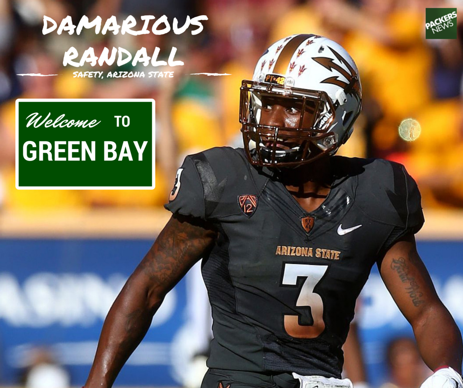 #Packers draft Arizona State safety Damarious Randall at No. 30. http://t.co/5fLYtiMSqT