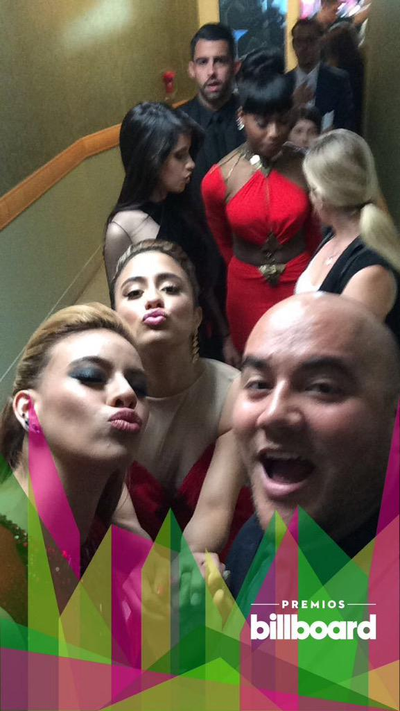 Backstage with my girls at #Billboards2015, always acting up!
