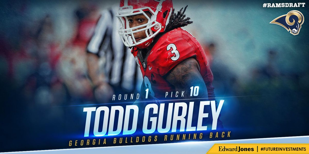 Glory, Glory... It's Todd Gurley. http://t.co/dLvIWT4hUK