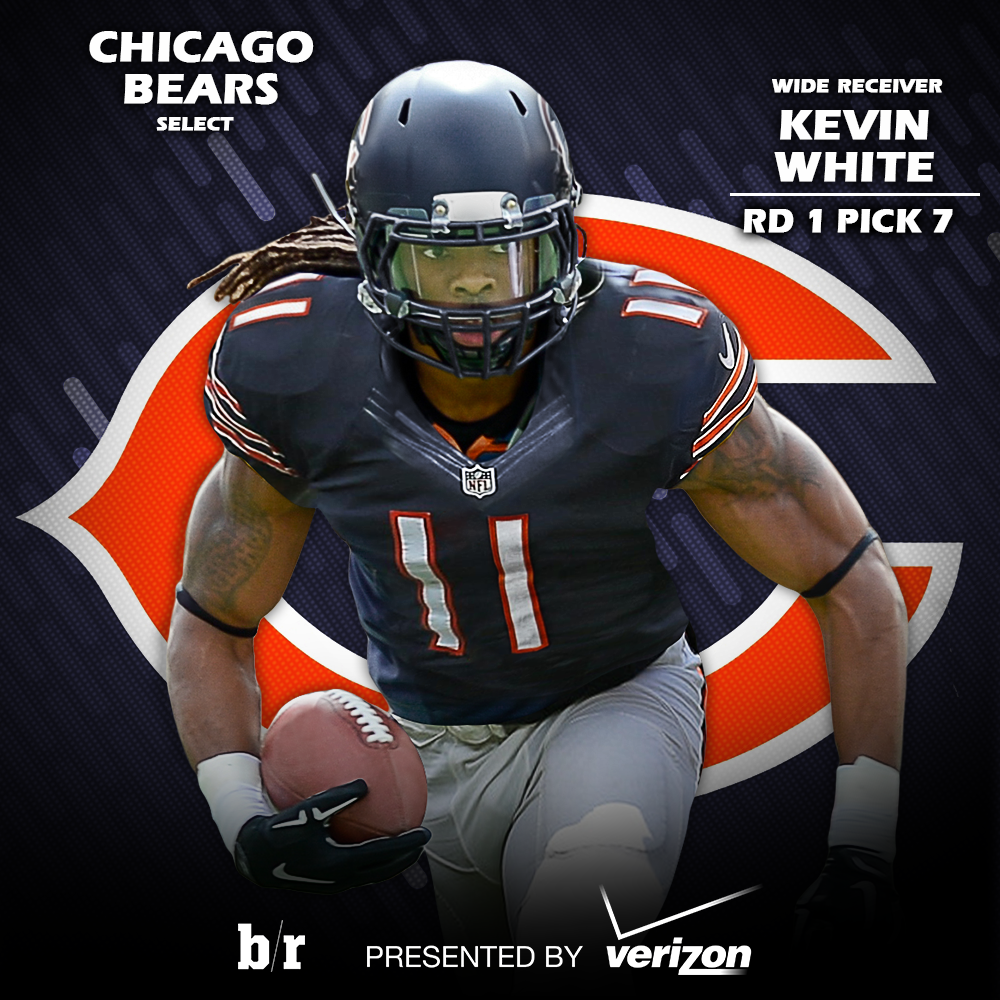 LIMITED Chicago Bears Kevin White Jerseys