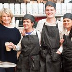 RT @epicurious: We stopped by the new @marthacafe to talk coffee with @MarthaStewart: http://t.co/reubHXPi4W #EpiCoffeeWeek http://t.co/xjY…