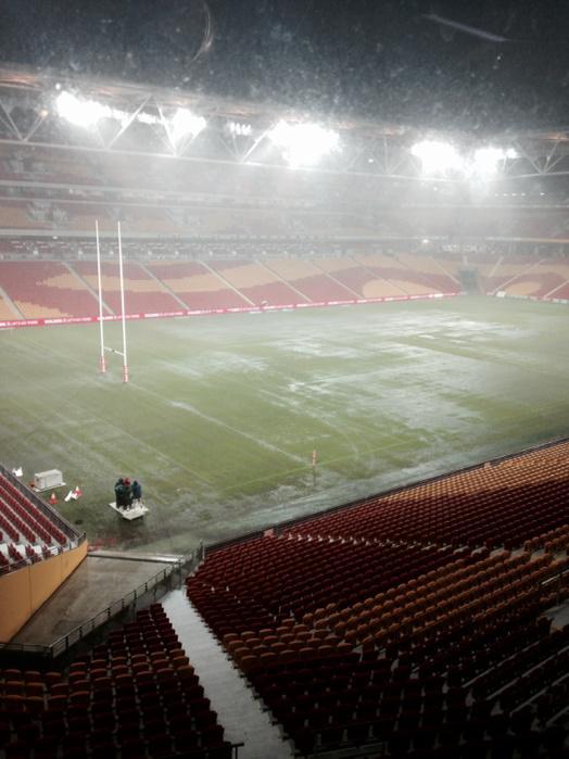 Raincorp Stadium #nrl #anzactest http://t.co/m3p14mGlpk