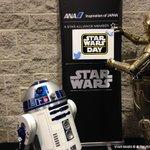 """おはようございます♪ 今日5月4日はスター・ウォーズの日☆ 劇中の名台詞『May the Force be with you.』と""""May the 4th""""をかけた語呂合わせが由来♪ #StarWarsDay #STARWARS http://t.co/1qsShspYoU"""