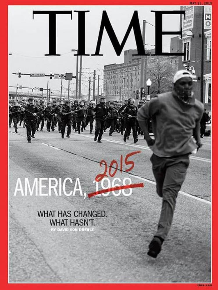 Portadón. Y polémica.  @TIME America, 1968 ó 2015? http://t.co/hH4GqSN3vH