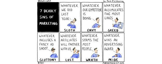 7 deadly sins of #marketing... http://t.co/oolSF736dr