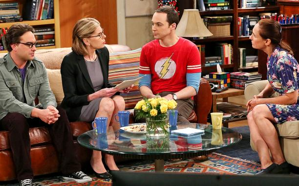 Last night's episode of 'The Big Bang Theory' was all about the meeting of the moms: