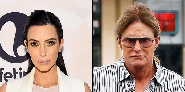 Kim Kardashian jokes to Bruce Jenner: 'Don't steal my glam team!'