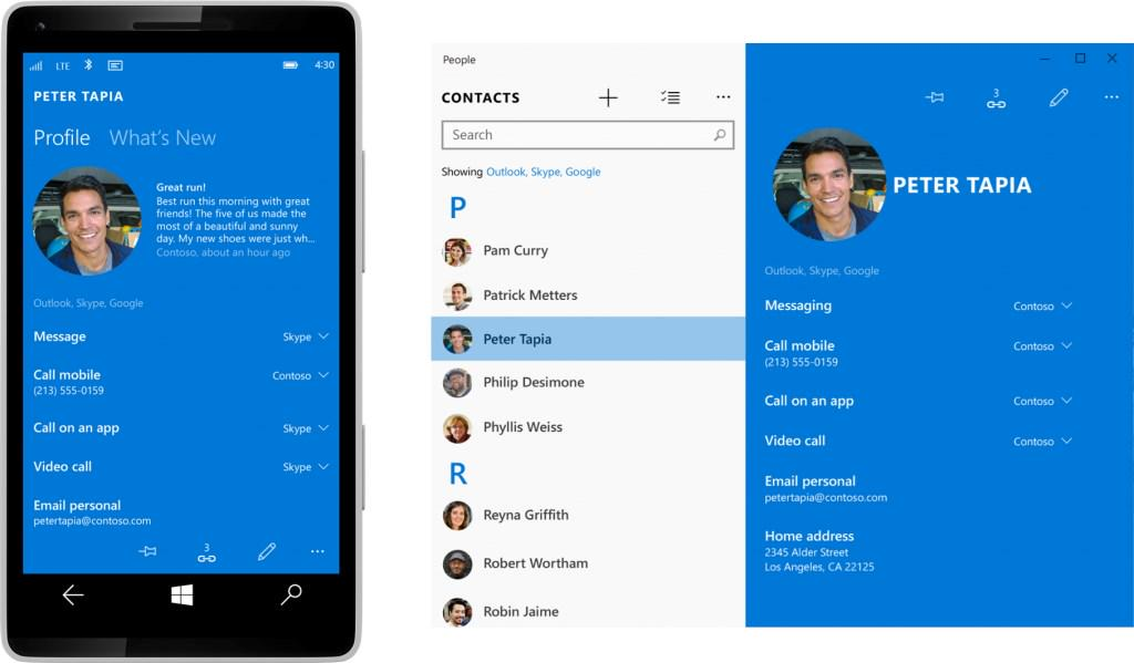 In the next Windows 10 for Phones / Mobile build, the apps will finally be pretty awesome. #wpdev #bldwin #Build2015 http://t.co/WMG4ovpD7j