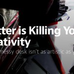Clutter is Killing Your Creativity http://t.co/ZOYi9y6dOg by @jeffgoins ^DJ http://t.co/8IxPJrolBM