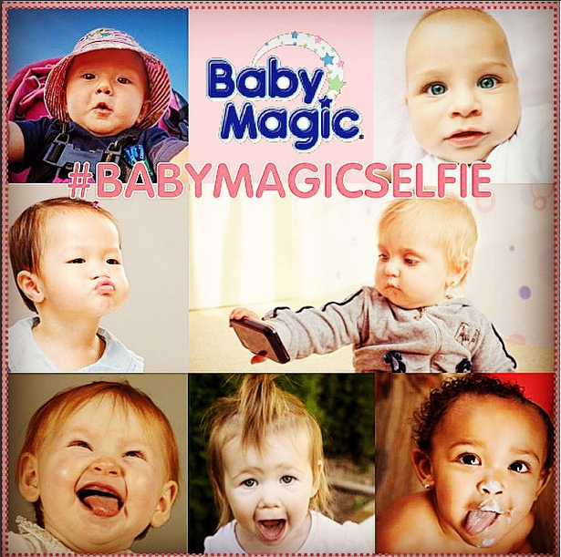 #EnterToWin a #MothersDay gift basket! Post your baby's best selfie & include #BabyMagicSelfie for a chance to win! http://t.co/TDjN8Hn9dQ