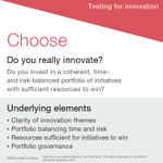 Choose clarity and a balanced portfolio. Our 8 essential tips to #innovate: http://t.co/6Rbkfibaly http://t.co/MZwrPk0nDi