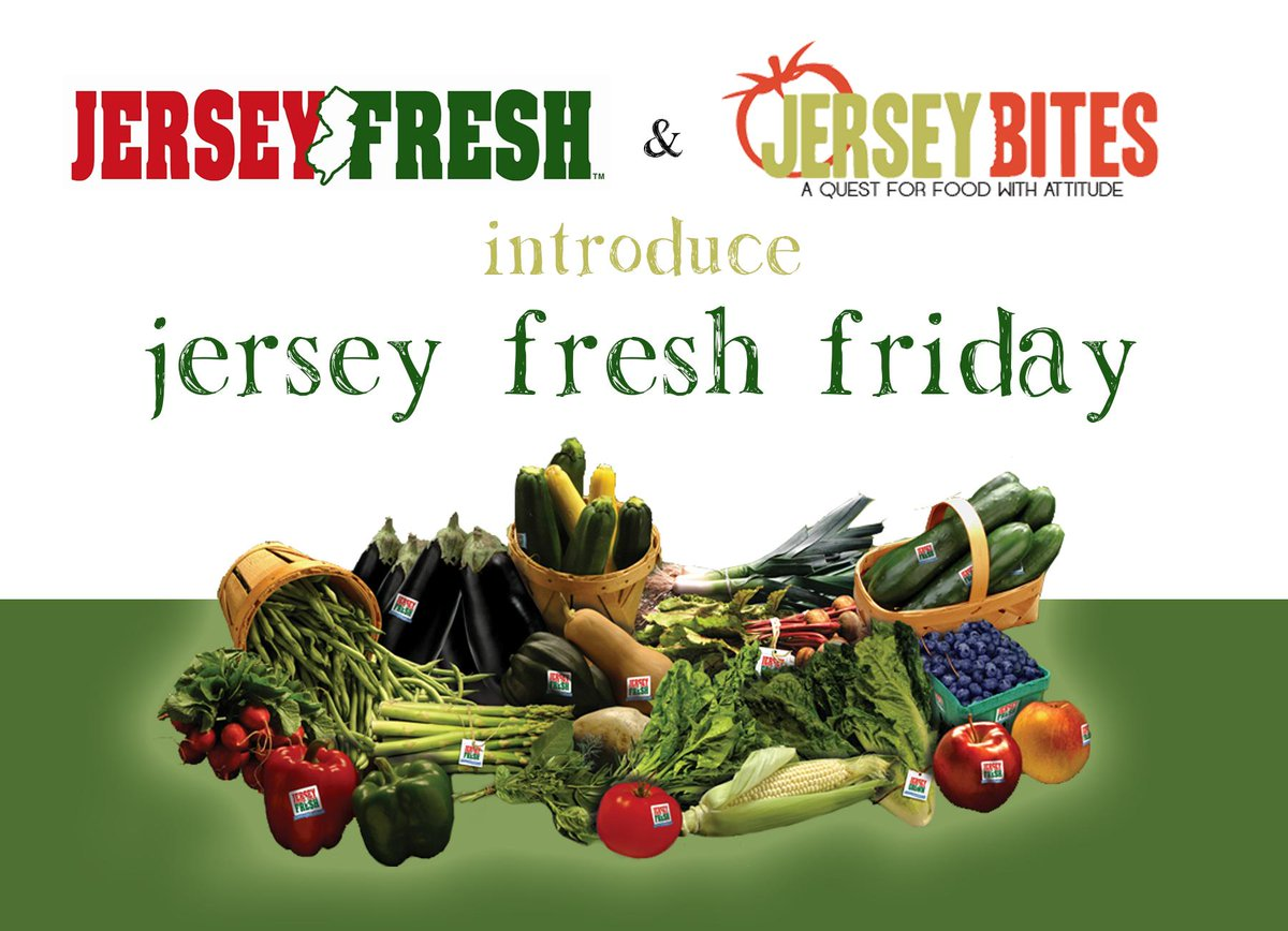 So excited to team up w/ @JerseyFreshNJDA on our new #JerseyFreshFriday campaign. Join us > http://t.co/Zlm5ZqxNmO http://t.co/DHIJz13to9