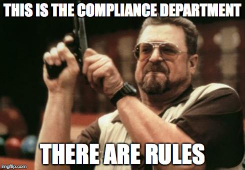 The #Compliance Meme of the Day for Friday, May 1! #DailyComplianceMeme #GRC #audit #COSO http://t.co/jeChFi1PQU