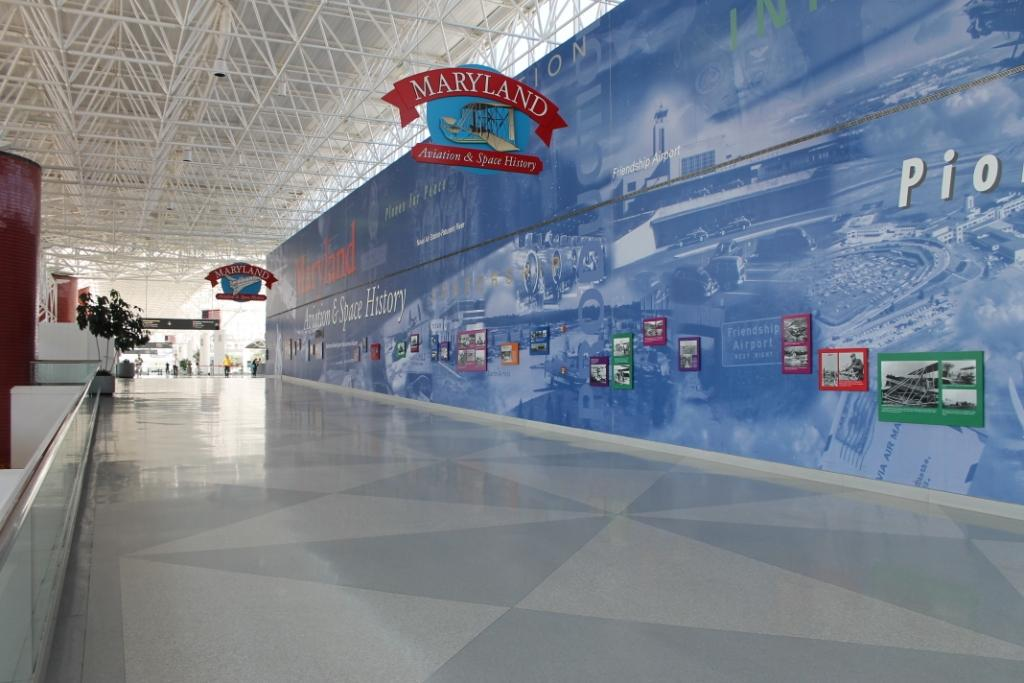 BWI construction for D/E Connector to temporarily close terminal corridor until November--