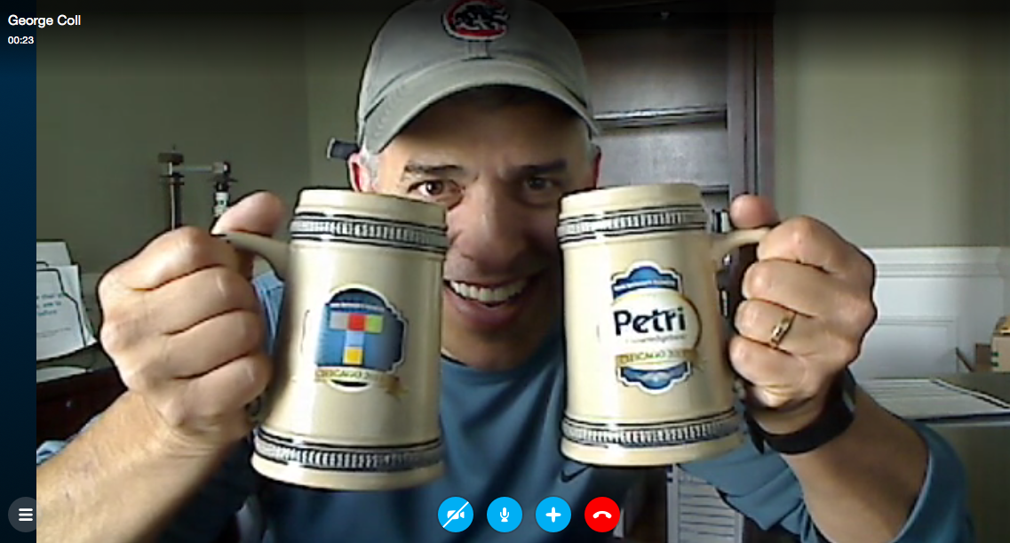 RSVP'ed for the @petri_co_il / @thurrott happy hour at @MS_Ignite? @georgecoll demos mug you get. #MSIgnite #TheKrewe http://t.co/adqlHcpUwp