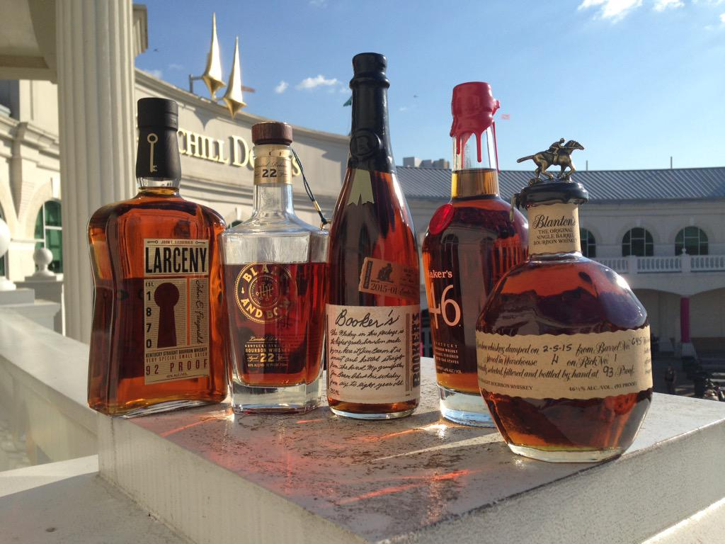 If you have a ticket to my special @derbymuseum room at #KentuckyDerby, these are the bourbons I've got for you http://t.co/sKrXPdDo2C