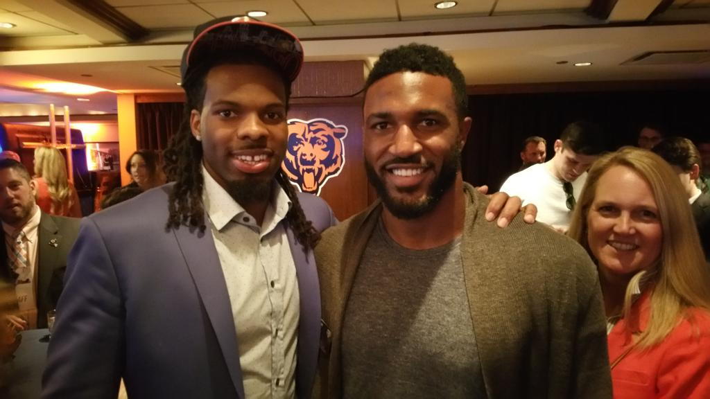 Caught up with my new teammate @kwhite8! Great guy. #BearDown http://t.co/uSI4HiAIo3
