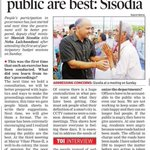 People are decision makers in AAP govt. #AAPatWork http://t.co/tqu6zYeadU